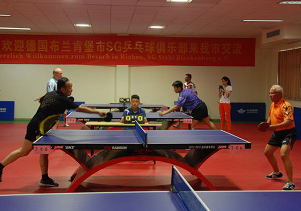 Factory Tour of SG Ping-Pong Club from Blankenburg