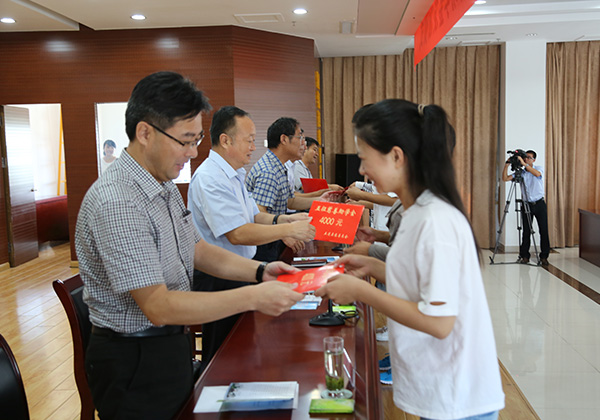 Wuzheng Charity Fund Donated 395,000 RMB to Help 137 Students Continue Study