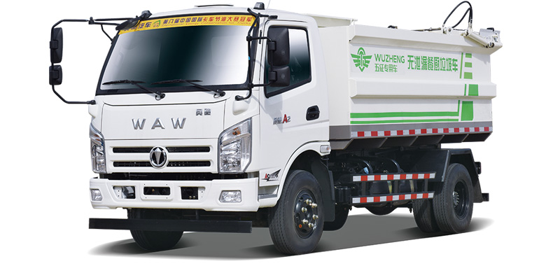 Food waste sanitation truck