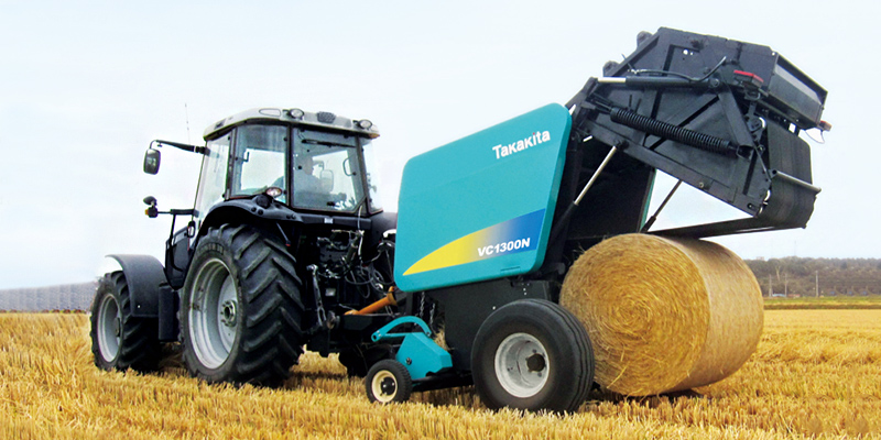 Pick-up and baling type