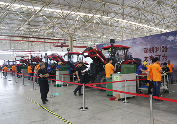 The first national agricultural vocational skills contest were held by Wuzheng Group