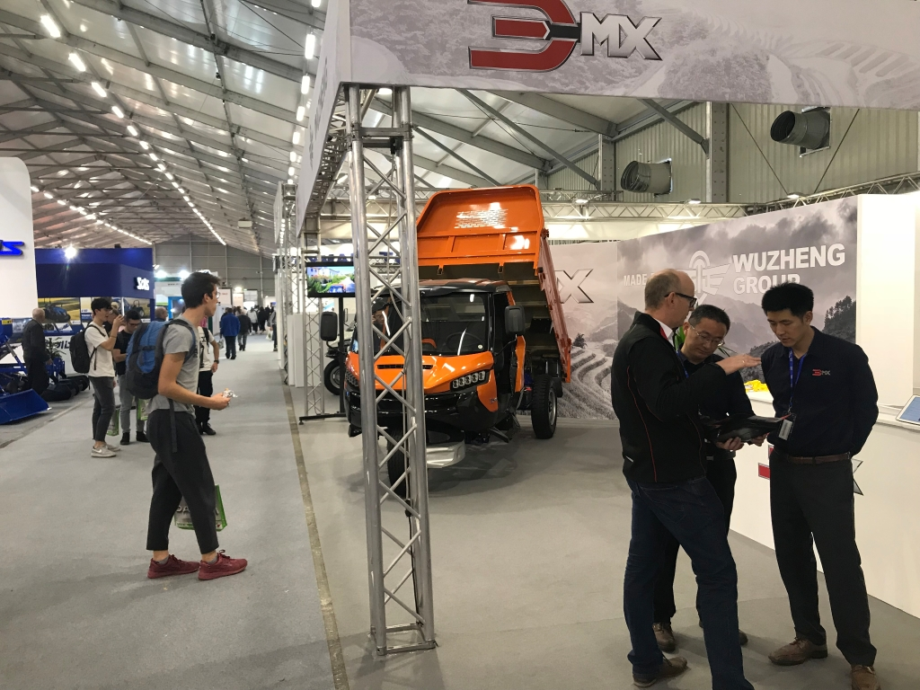 3MX debuts at the EIMA show