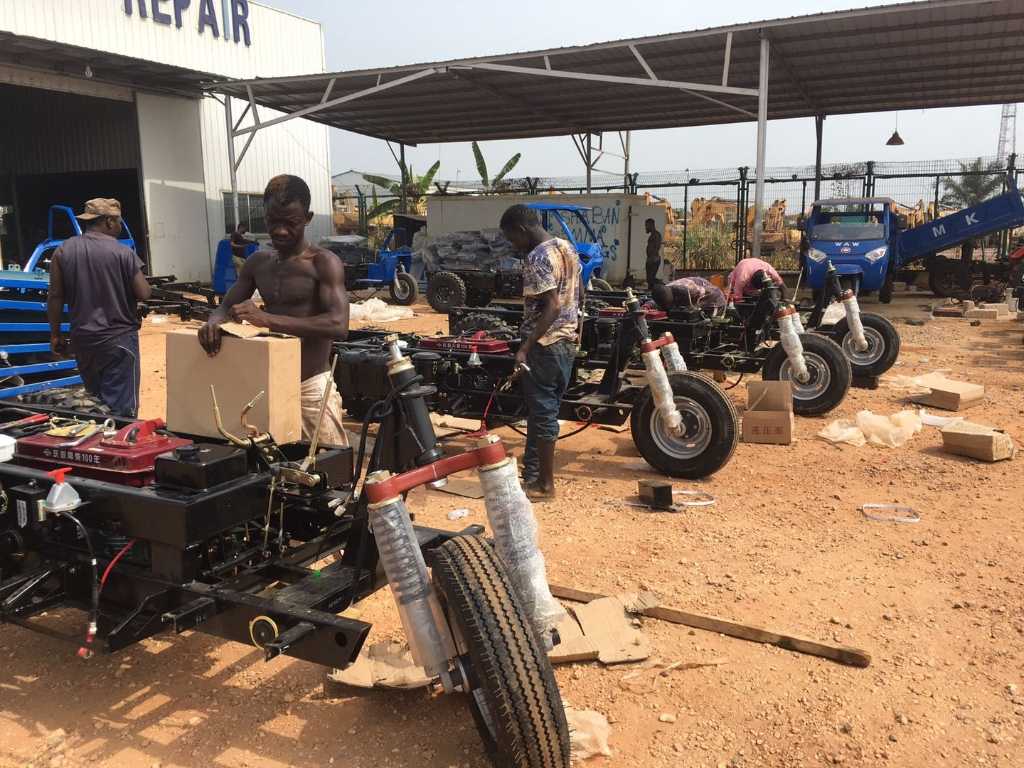 Wuzheng(Ghana) set up training seasons for local dealers